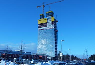 株式会社日興施工事例|スウェーデン ビクトリアタワー 外観