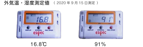 築10年 軽井沢保養所の室内環境